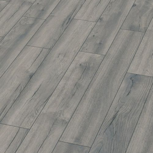 Kronotex Exquisite Petterson Grey Oak 8mm Laminate Flooring